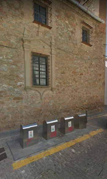 contenedores soterrados en badajoz
